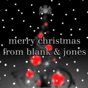 Merry Christmas from Blank & Jones