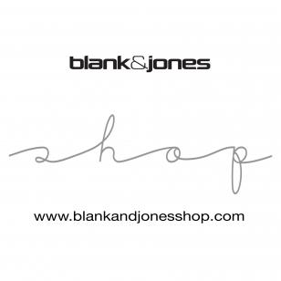 Blank & Jones Shop NOW OPEN